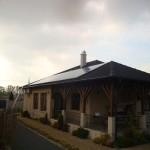Jármi - napelem családi házon 1