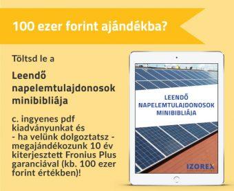 Ismertető a napelemekről leendő tulajdonosoknak