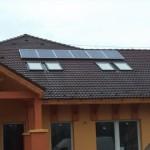 Lakossági napelem rendszer Ajak 3