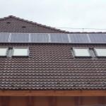 Lakossági napelem rendszer Ajak 1