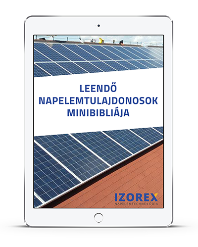 Leendő napelem tulajdonosok minibibliája