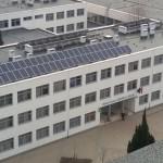 Napelem iskola tetején Nyíregyháza 3